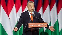 """""""Der Westen wird fallen"""": Orban sieht düstere Vorzeichen für Europa"""