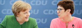 Vom Saarland nach Berlin: Kramp-Karrenbauer tritt als Ministerpräsidentin zurück