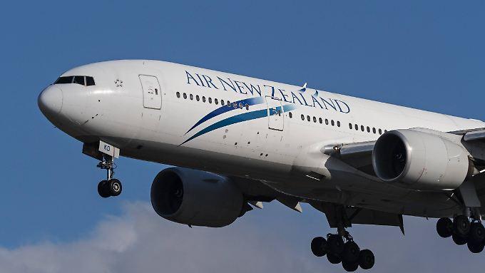 Air New Zealand streicht bis Dienstagabend alle Flüge.
