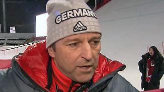 """Skisprung-Trainer zieht positives Fazit: Schuster: """"Super Olympische Spiele für uns"""""""