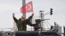 Türkische Truppen marschieren in Syrien ein - und wollen nun Afrin belagern.