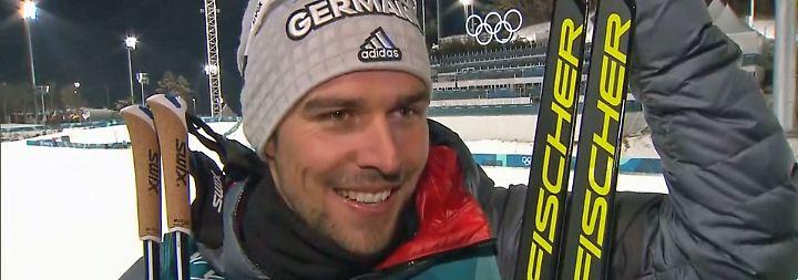 """Rydzek über olympischen Dreifach-Erfolg: """"Wir verstehen uns fast blind"""""""