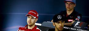 Neue Wagen für Vettel und Co: Formel 1 rast 2018 mit Heiligenschein