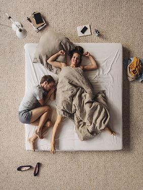 Man verbringt viel Zeit im Bett - da sollte man auch gut liegen.