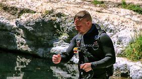 Robert Schmittner hat das längste Unterwasser-Höhlensystem der Welt entdeckt.