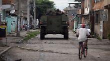 Militäreinsatz in Rio de Janeiro: Brasilien entsendet Truppen in die Städte