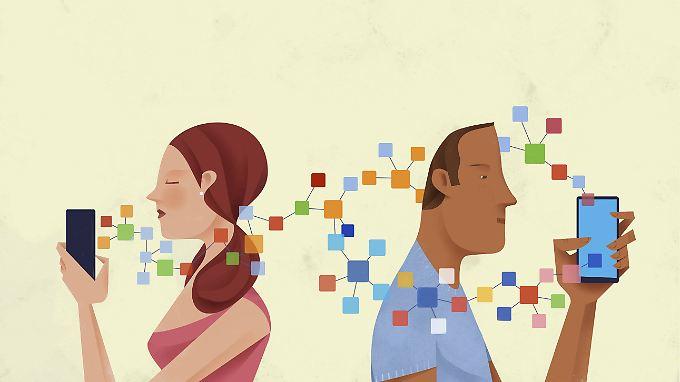Viele Dating-Apps geben intime Daten an Facebook und andere Unternehmen weiter.
