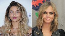 Sind sie mehr als Freundinnen?: Paris und Cara sorgen für Gerüchte