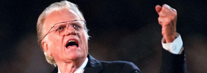 """""""Maschinengewehr Gottes"""": Prediger Billy Graham ist tot"""