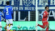 Abstiegskampf in der 2. Liga: Lautern schockt Darmstadt im Kellerduell