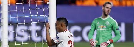 Krampf im CL-Achtelfinale: Mourinhos Man United duselt in Sevilla