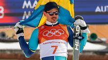 Olympischer Riesenslalom: Myhrer triumphiert, Hirscher scheidet aus
