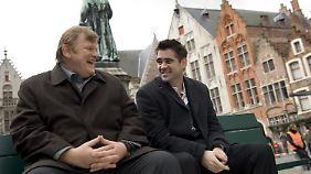 """Die beiden Hauptdarsteller Brendan Gleeson (Ken, links) und Colin Farrell (als Ray) in einer Szene von """"Brügge sehen ... und sterben"""""""