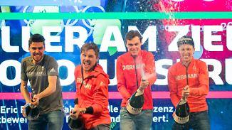 Medaillenjubel kostet Schneidezahn: Deutsche Kombinierer feiern nächstes Olympia-Gold