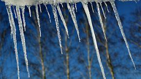 Kältekammer Erzgebirge: Beißender Wind friert Deutschland ein