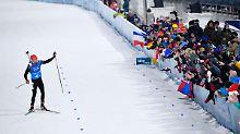 Der Sport-Tag: Deutsche Biathlon-Herren laufen zu Bronze
