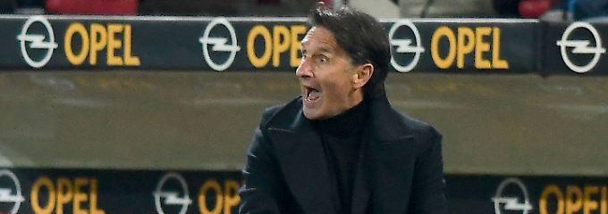 Auf ihm ruhen die Wolfsburger Hoffnungen: Bruno Labbadia.