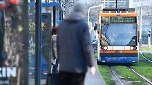Straßenbahn in Mannheim