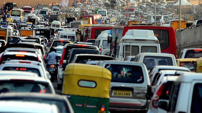 Indiens Straßenverkehr gilt als einer der gefährlichsten der Welt.