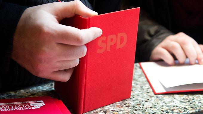 Der SPD kann sich über Tausende neue Mitglieder freuen.