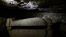 Fundsache, Nr. 1371: 2500 Jahre alte Totenstadt am Nil
