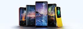 Die Finnen schieben nach: Fünf neue Nokias kommen im Frühjahr