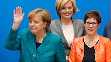Alte Bekannte, aber auch Jüngere: Merkels neue Mannschaft