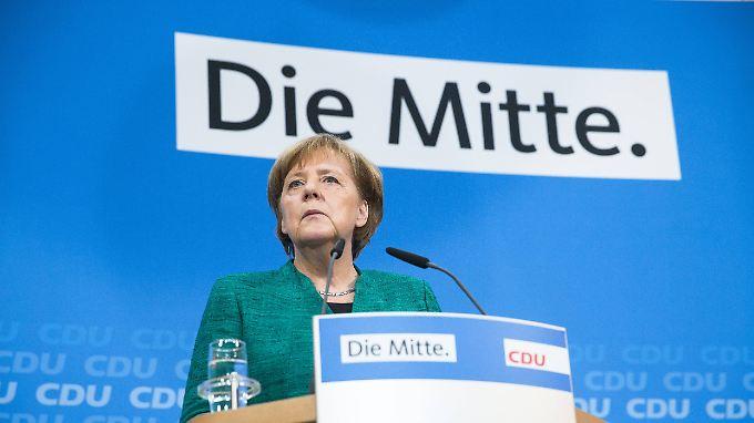 Angela Merkel hat die Balance zwischen dem konservativen und dem liberalen Flügel der CDU aufgegeben.