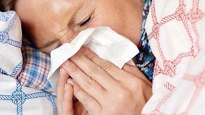 Infektionswelle steuert Höhepunkt an: Aggressive Grippeviren machen Deutschland zu schaffen