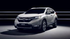 Preiswert und gefällig gezeichnet, erfreut auch der Honda CR-V die Kundschaft weltweit.