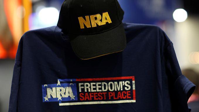 Die NRA sieht im Waffenbesitz ein Zeichen von Freiheit.