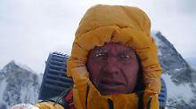 Zweithöchster Berg der Welt: Urubko bricht todesmutigen Solo-Versuch ab