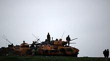 Bereit zum Häuserkampf: Türkei schickt Spezialkräfte nach Afrin