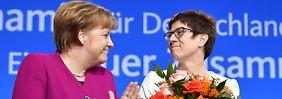Kramp-Karrenbauer neue Generalsekretärin: CDU-Parteitag gibt grünes Licht für GroKo
