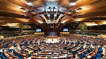 Zahlung aus Protest eingefroren: Russland verweigert Beiträge für Europarat
