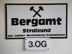 Das Bergamt Stralsund hatte ursprünglich grünes Licht für den Bau der Erdgastrasse Nord Stream 2 gegeben.