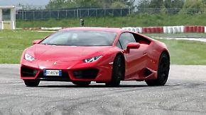 Italienischer Stier mit Power im Heck: Lamborghini Huracan LP 580-2 verlangt dem Fahrer alles ab