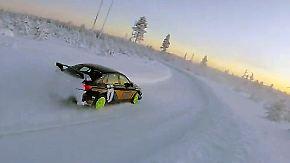 Drift-Spaß bei minus 25 Grad: Trainingscamp in Lappland macht PS-Fans fit für den Winter