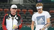 Der Sport-Tag: Boris Becker glaubt nicht an Zverev-Erfolg in Rom