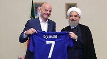 """Der Sport-Tag: Fifa: Iran könnte Stadionverbot für Frauen """"bald"""" aufheben"""