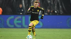 Reus macht Bock auf die WM: Der Nationalspieler erzielte gegen Leipzig sein drittes Tor in der Rückrunde.