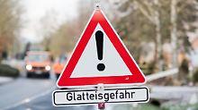 Ausnahmezustand in Berlin: Eisglätte erfasst Norden und Osten