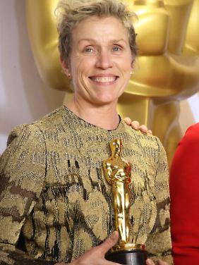 Der zweite Oscar für Frances McDormand.
