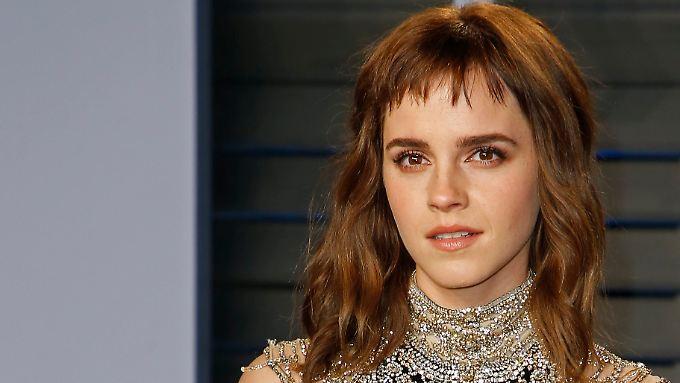 Kontert ihre Kritiker: Emma Watson.