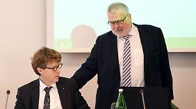"""Brandenburgs Flughafenkoordinator Rainer Bretschneider verrät, dass er und Daldrup """"nicht nur ein Liebespaar waren""""."""