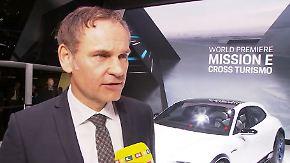 """Oliver Blume zur Elektromobilität: """"Man wird Porsche fühlen, riechen und schmecken können"""""""
