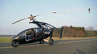 Aus der Garage hoch in die Luft: Traum vom privaten Fliegen hat seinen Preis