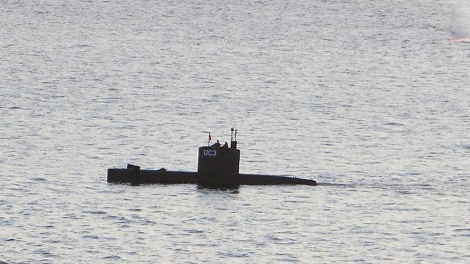 Madsen und Wall gemeinsam auf dem U-Boot, kurz darauf ist die Journalistin tot.