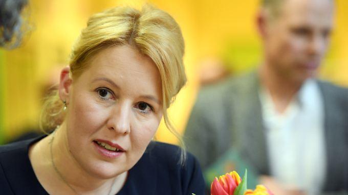 Giffey soll nach dem Willen der Ost-SPD in die Bundesregierung aufrücken.