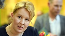 Aus Neukölln an Kabinettstisch: Ost-SPD will Giffey in Regierung